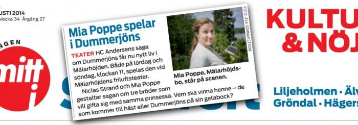 TEATERSAGAN PÅ MÄLARHÖJDENS FRILUFTSTEATER