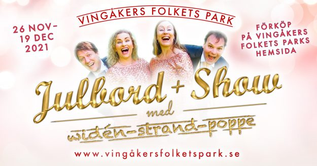 Julbord + Show i Vingåkers Folkets Park
